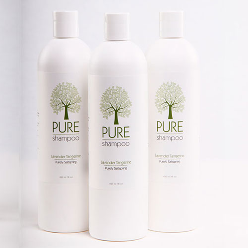 Pure Shampoo – NEW Larger size! 16oz/500ml